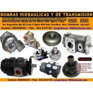 Nuevo Chimbote Peru Lima BOMBAS DE TRANSMISION BOMBAS