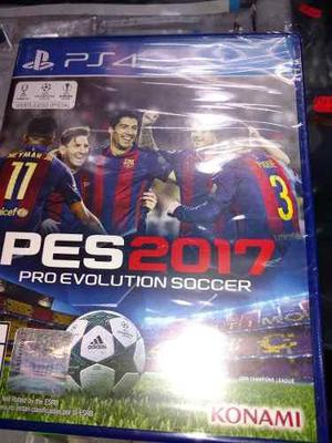 Pes 2017 Nuevo Y Sellado Play Station 4 / Play 4 (fortum)