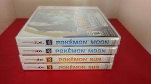 Pokemon Sun Moon Nuevo Sellado