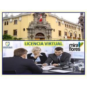 SE ALQUILA OFICINA VIRTUAL CON LICENCIA DE FUNCIONAMIENTO,