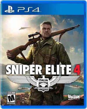 Sniper Elite 4 Ps4 Play Station 4 Nuevo Sellado Oferta
