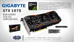 Tarjeta de video GIGABYTE NVIDIA GeForce GTX GB GDDR5