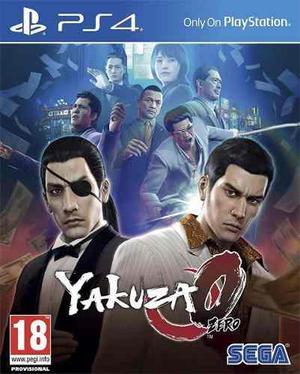 Yakuza 0 Zero Ps4 Sellado Garantia Stock Disponible Hoy
