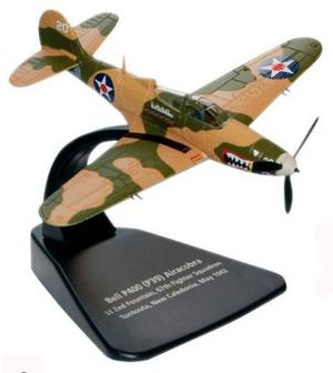 Avión Bell P-39 Airacobra Modelismo Militar