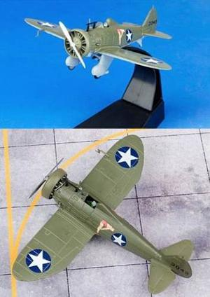 Avión Boeing P-26a Peashooter Modelismo Militar