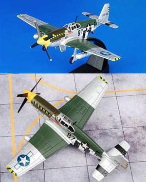 Avión P-51b Mustang Modelismo Militar