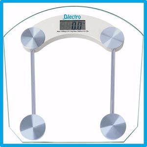 Balanza Digital De Baño Vidrio Hasta 180 Kg Dlectro