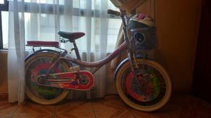 Bicicleta Monark Para Niña