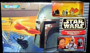 Boba Fett Cabeza-escenario Micro Machine Figuras Star Wars