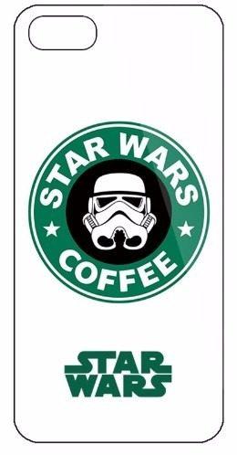 Case Funda Star Wars - Iphone 5 5s Modelo Star Wars Coffee