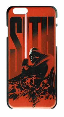 Case Funda Star Wars - Iphone 6 6s Modelo Red Sith Darth Vad