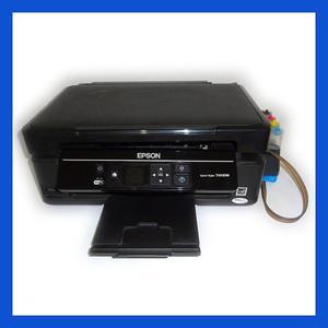 Epson Multifuncional Tx430w, Sistema Continuo, Pantalla, Sd
