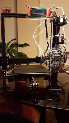 Impresora 3d Tarantula Doble Extrusor, Auto Calibración