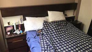 Juego De Dormitorio 2 Plazas Con Sus. Veladores