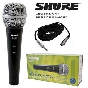 Micrófono Shure Sv100 ¡nuevo! Sellado