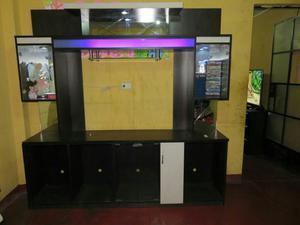 Mueble de entretenimiento para sala de melamine posot class for Mueble de entretenimiento