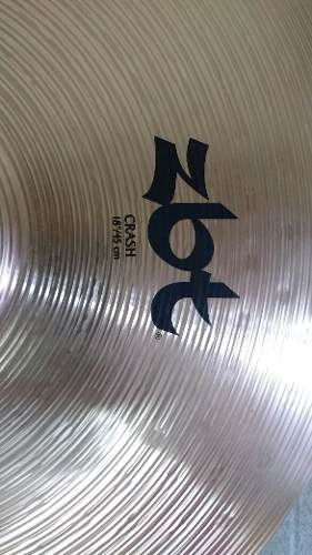 Platillo Zildjian Zbt Crash 18