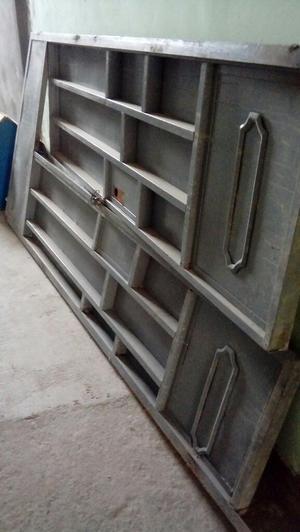 Vendo puerta metalica posot class - Puertas doble hoja ...