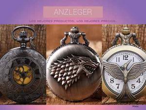 Reloj De Bolsillo - Game Of Thrones, Hunger Games, Classic