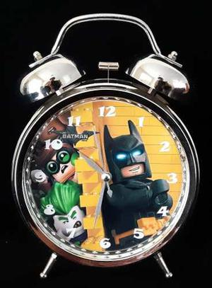 Reloj Despertador Estilo Vintage The Lego Batman Movie