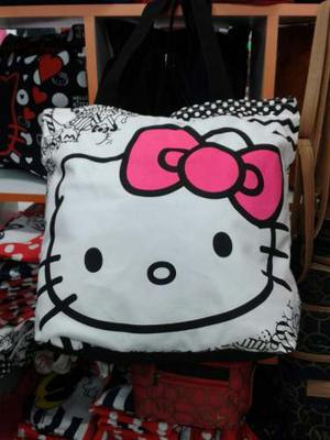 Bolsos De Tela Mickey, Hello Kitty, Otros 2x60
