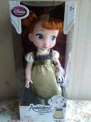 Muñecas Frozen Animators Anna Y Elsa