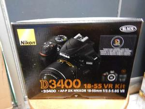 Camara Nikon D Lente mm Vr + Memoria De 16gb Zf