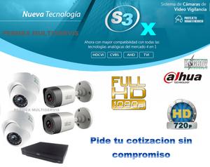 NUEVOS KIT DE CAMARAS DE VIGILANCIA HD Y FULL HD ventas e