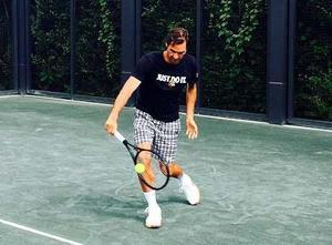 Polo Nike Tenis Emoji Roger Federer A 160 Soles!!! Talla M