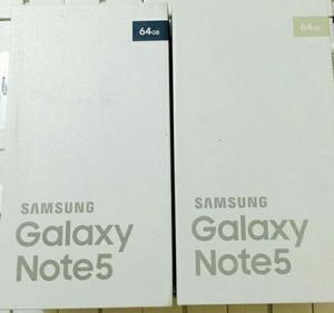 Samsung Galaxy Note 5, Nuevos, 32gb Y 64gb, 4gb Ram, 4g Lte,