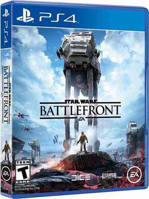 Star Wars Battlefront - Juegos Ps4 - Nuevo Y Sellado