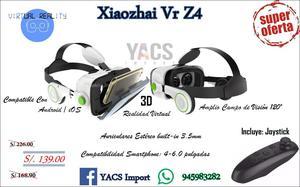 xiaozhai vr z4 realidad virtual joystick samsung lg huawei