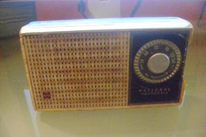 Antiguo Radio De Transistor National Funciona