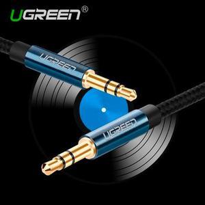 Cable Auxiliar 3.5 Mm Para Mp3, Iphone, Para Auto