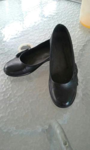 Zapato Escolar Nuevo de Puro Cuero