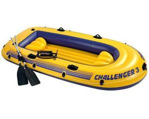 Challenger 3 Inflable Intex Nuevo Con Inflador De Aluminio.