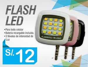 El Flash Led, Luz Led para capturar tus mejores momentos!