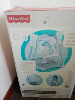 Fisher Price Mecedora 3 En 1 Casi Nuevo