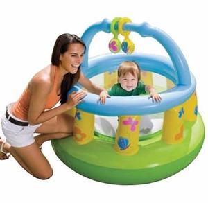 Gimnasio Corralito Inflable Para Bebes Baby Gym Playa Jardin