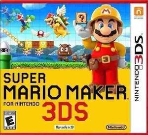 Juegos Digitales 3ds Super Mario Maker 3ds