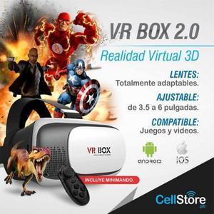 Lentes de realidad virtual VR BOX 2.0