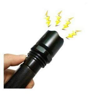 Linterna Led Con Zoom Y Electroshock Recargable