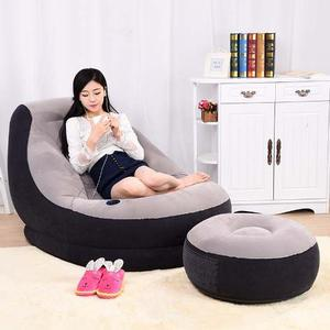 Sofa Inflable Con Puff Intex