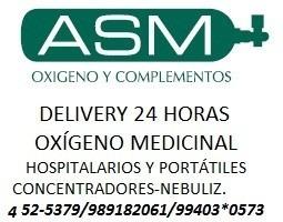 Equipo De Oxígeno Medicinal Portátil Y Estacionario