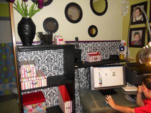 Escritorio de melamine con tablero de vidrio posot class - Tablero para escritorio ...