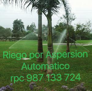 Riego por aspersion aspersores sime naandan posot class for Aspersores para jardin automaticos