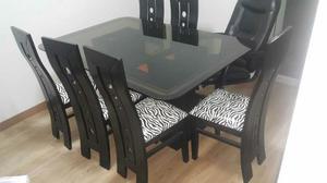 Juego De Comedor, De Muebles,mesa De Centro Y Centro Entrete