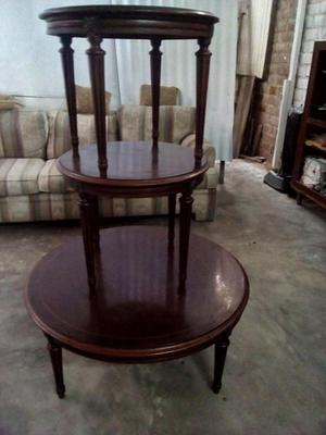 Juego de 8 sillas antiguas estilo luis xvi posot class - Mesas de centro antiguas ...