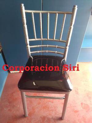 Sillas tiffany y siri para eventos mesas posot class for Fabricantes sillas peru