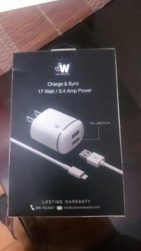 Cargador Y Cable Lightning Para Ipad Y Iphone
